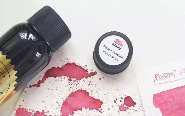 彩墨丨強迫癥福音之ROS墨水全系列70色試色