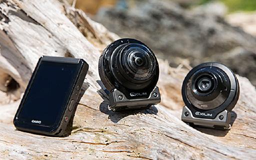 卡西欧新款全景相机,机身镜头拆开用!