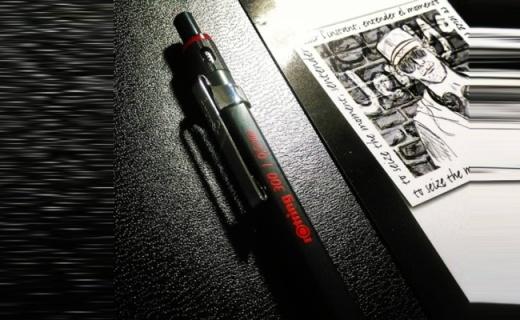 红环300自动铅笔:六边形笔杆握持舒适,轻松书写精确绘图