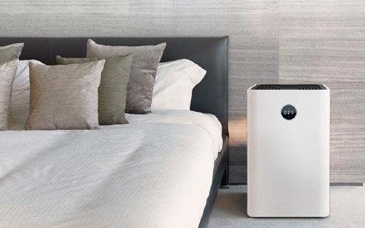 airx超静音空气净化器,6分钟就能净化房间