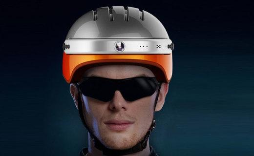 愛爾威C5智能攝像頭盔:超強拍攝功能,安全抗壓材質,行車更安全