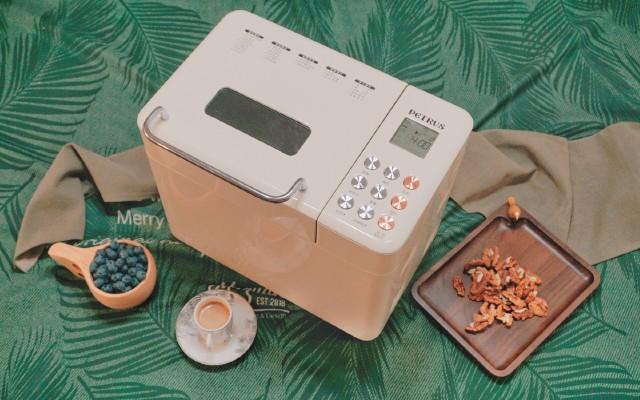 手殘秒變面包達人,用這臺高顏值的面包機,2步就能做出柔軟土司