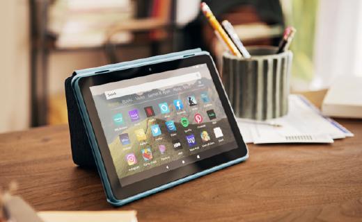亚马逊推出三款Fire HD 8平板电脑,支持无线充电,638元起