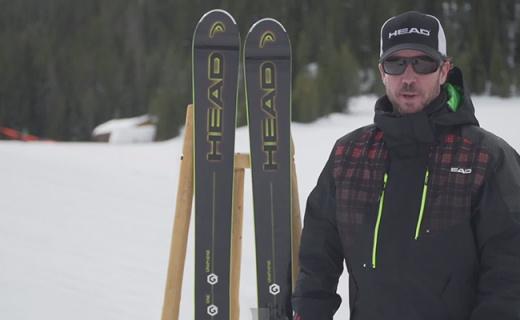 HEAD Monster 108滑雪板:石墨烯三层结构板材,平稳缓震易上手