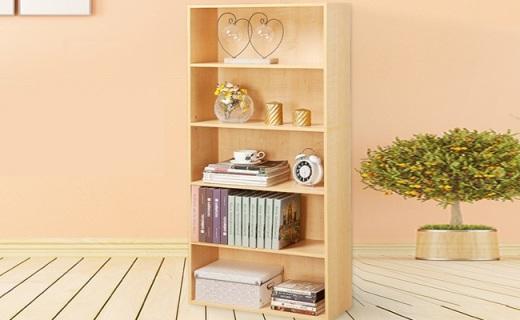 Homestar書架:楓木色實木板材,開放式設計更實用