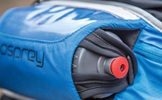 左撇子福利,透氣舒適的Osprey腰包還自帶水壺