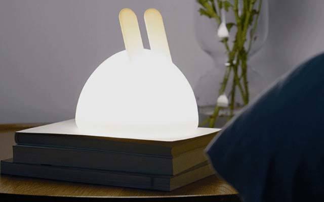 造作 LED月兔燈