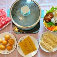 火锅新吃法,一升一降方便健康