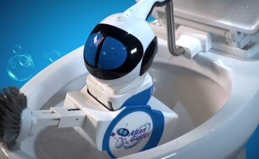 国外小哥搞起黑科技,全自动厕所清洁机器人,比家里马桶还贵...