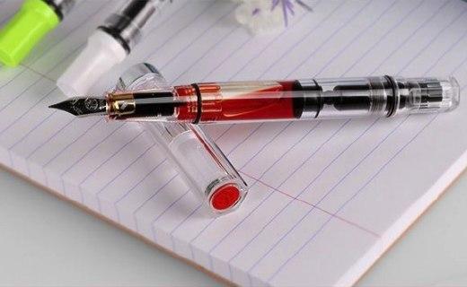 三文堂钢笔:精密德系不锈钢笔尖,高通透塑料持久书写