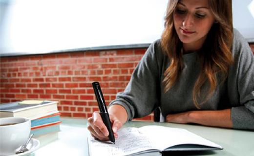 听说读写实时记录的Livescribe智能笔,工作效率翻倍