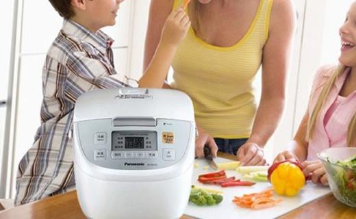 松下變頻IH電飯煲:四段變頻火力,電磁加熱煮飯更香