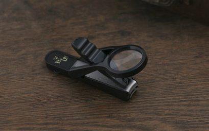 贝印指甲钳:放大镜设计适合老人,自带收纳盒干净卫生