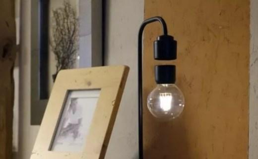反重力懸??!國外團隊發布 Levia 創意燈具