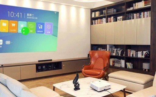 颜值美观画质能打!Boxlight智能家用投影电视上市,百吋4K不到5000块?
