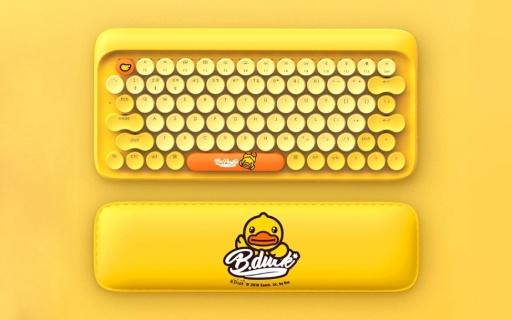 小米上架小黄鸭机械键盘:青轴轴体,蓝牙连接,售价599元