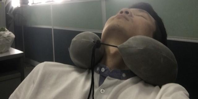 LOHATEX天然乳胶U型枕体验:程序员午休助眠神器