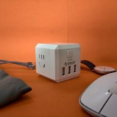 給你好看 | 奧睿科(ORICO)USB魔方插座(無線版)