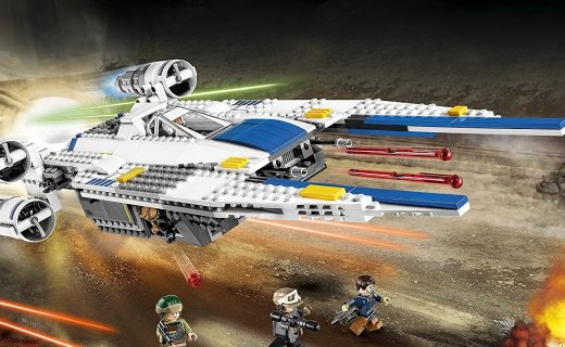樂高星球大戰U翼戰斗機:高還原星戰載具,超值價格不要錯過