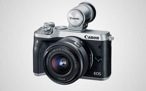 佳能新款EOS M6:入门无反相机的新选择