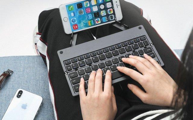 Gotek口琴式折叠便携无线键盘
