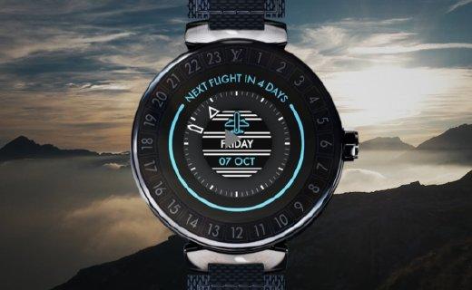LV推新智能手表,搭Wear 3100處理器,續航5天!