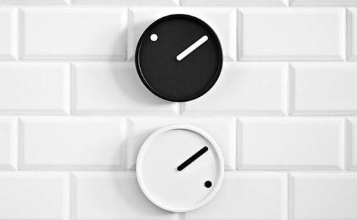 Rosendahl極簡掛鐘:極簡表盤無讀數,一針一點即能表達時間