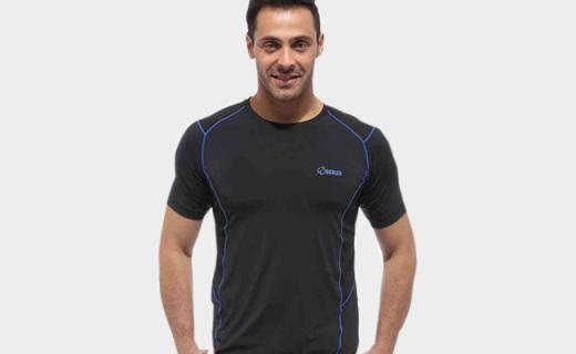 Scaler戶外男士T恤:透氣網布拼接,清爽透氣運動必備