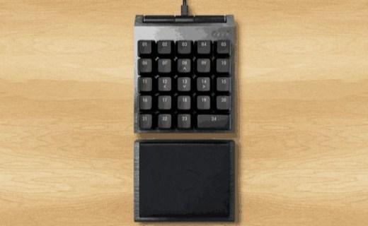 酷冷上线压感键盘ControlPad:带来游戏新体验!