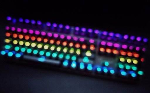 简洁无边框,自定义灯效,机械键盘入门之选 — ?#35013;豓700RGB机械键盘评测