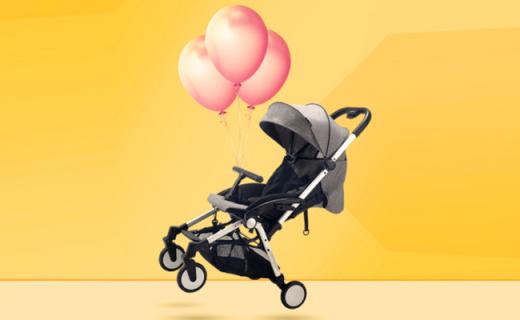 Safety 1st嬰兒推車:單手一鍵折疊,輕便易攜寶寶也舒適