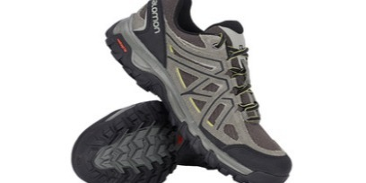 萨洛蒙户外徒步鞋:科技外底防滑耐磨,抓地力强穿着更舒适