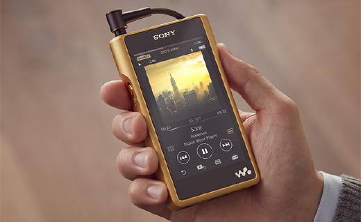 索尼全新旗艦Walkman,鍍金機身,更強推力