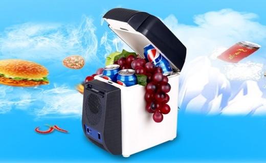 纽福克斯车载冰箱:你的专属冷热饮冰箱,户外也要喝的最新鲜