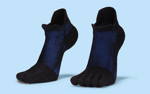 愛燃燒跑步壓力五指襪