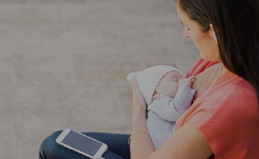 能監測吞咽的聽診器,讓寶寶吃奶時不再嗆奶