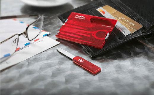 便携多功能瑞?#28900;?#20992;卡,一张卡片13种工具