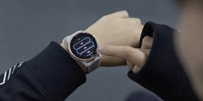 真香預警!Garmin AMOLED屏智能手表來了!顏值和實力二合一!