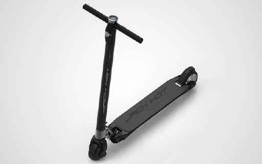钛合金车架电动滑板,一秒折叠就带走!