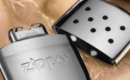 Zippo暖手炉打火机:白金触媒材质打造,52度恒温24小时持续发热