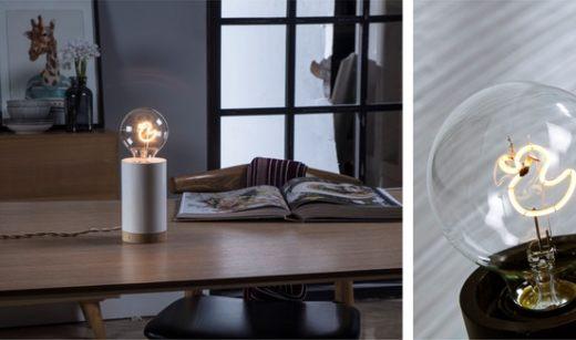 支持自由定制发光图案的LED灯泡,堪称求婚利器
