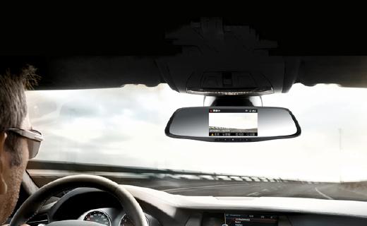 140°超大广角行车记录仪,熄火还能记录影像