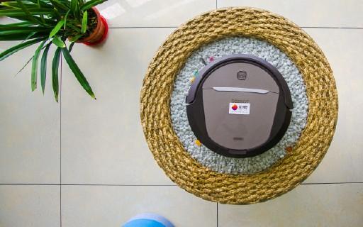 手機就能控制的智能掃地機,前掃后拖讓清潔更徹底