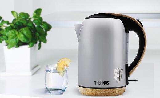 控溫精準長得美,膳魔師電熱水壺讓你愛上喝水