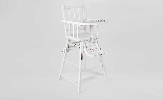 Zara Home儿童餐椅:榉木制造安全?#21890;蹋?#21487;变形设计一椅两用