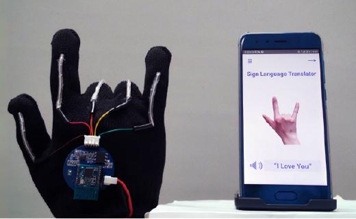 聾啞人士福音!加州大學研究出一款可用于手語教學的高科技手套