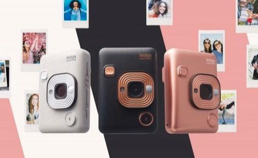 「新東西」能錄音的拍立得?富士發布全新 Instax mini LiPlay