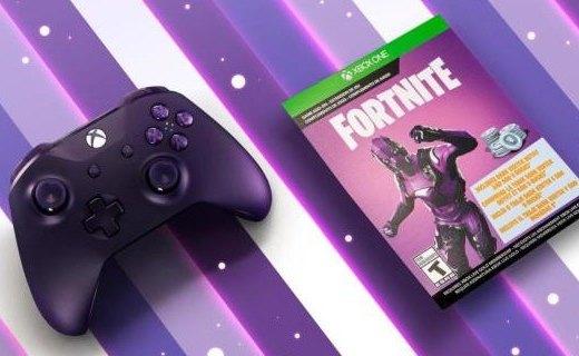 「新東西」紫色限定!《堡壘之夜》主題手柄將可單獨購買