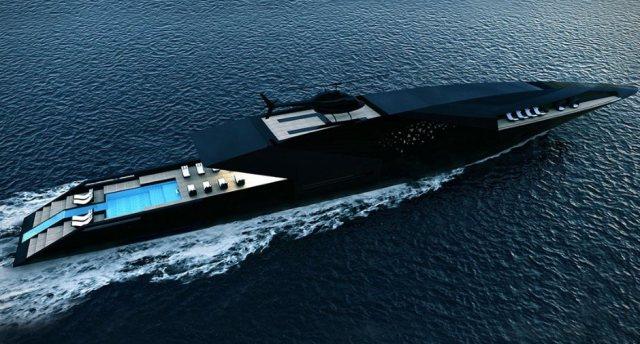 全球最極端的超級游艇!Black Swan黑天鵝游艇或正式量產