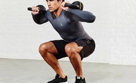 迪卡儂16kg壺鈴:輕松鍛煉肌肉與心肺功能,磨砂握柄使用舒適